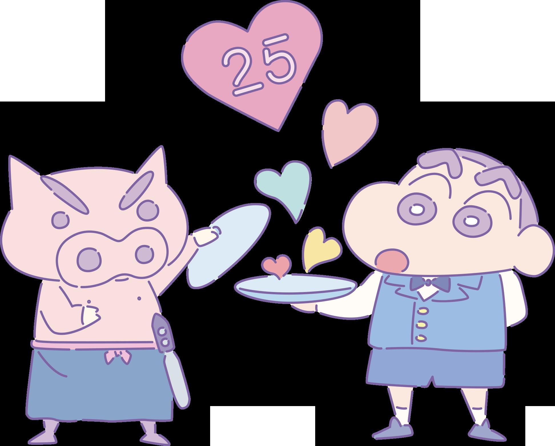 """クレヨンしんちゃん25周年記念コラボ企画! スペシャル""""ゆめかわ""""カフェ「ビストロオラマチ」オープン"""
