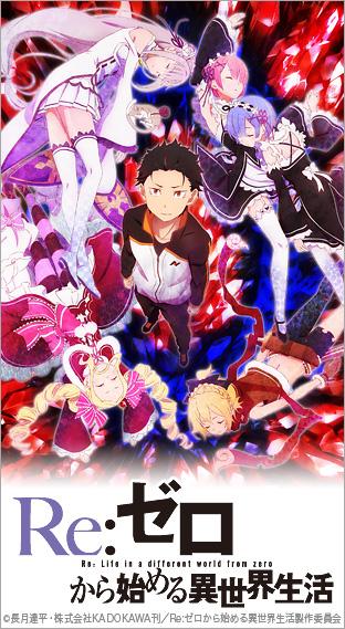 ニコニコチャンネル Re:ゼロから始める異世界生活 第1話「始まりの終わりと終わりの始まり」 無料視聴はコチラ!!