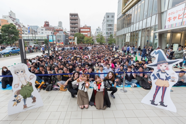 『がっこうぐらし!』聖地「オリナス」を舞台にイベントが開催。