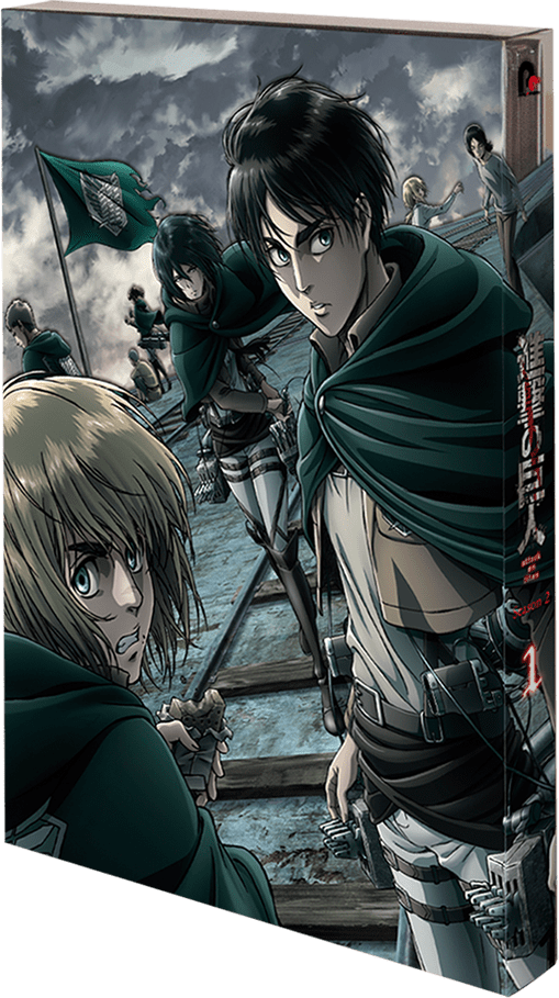 『進撃の巨人』Season 2 BD & DVD1巻本日発売!!