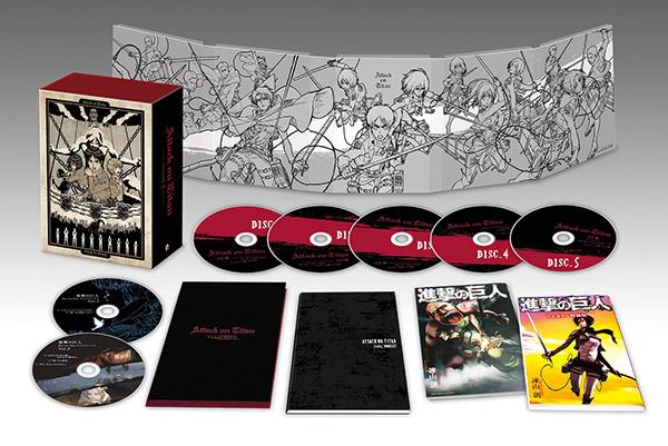 『進撃の巨人』Season1 Blu-ray&DVD BOX&CD情報