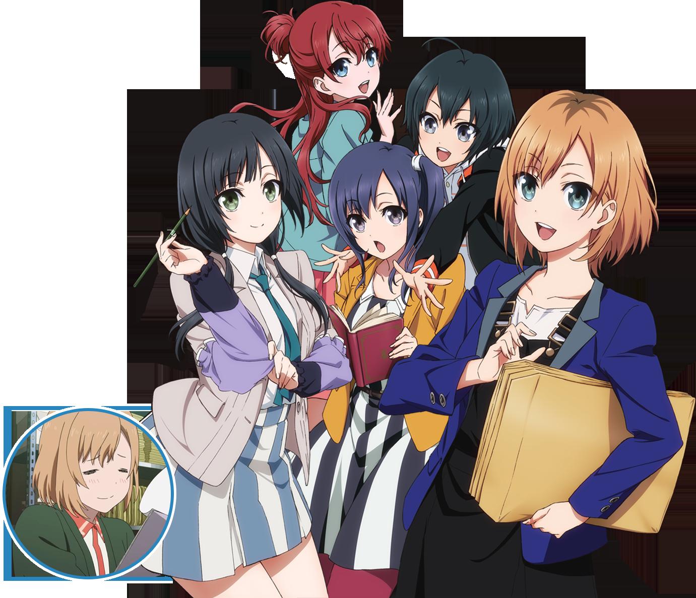 アニメキャラも働いている! おすすめのお仕事系アニメ5選!