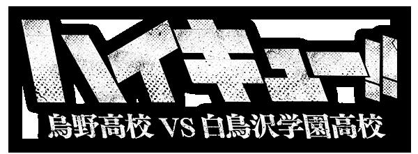 アニメ「ハイキュー!! 烏野高校 VS 白鳥沢学園高校」公式HP