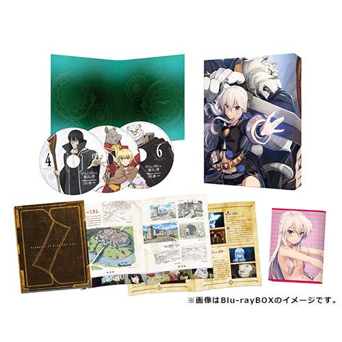 『ゼロから始める魔法の書』Blu-ray&DVD BOX 第2巻 発売情報