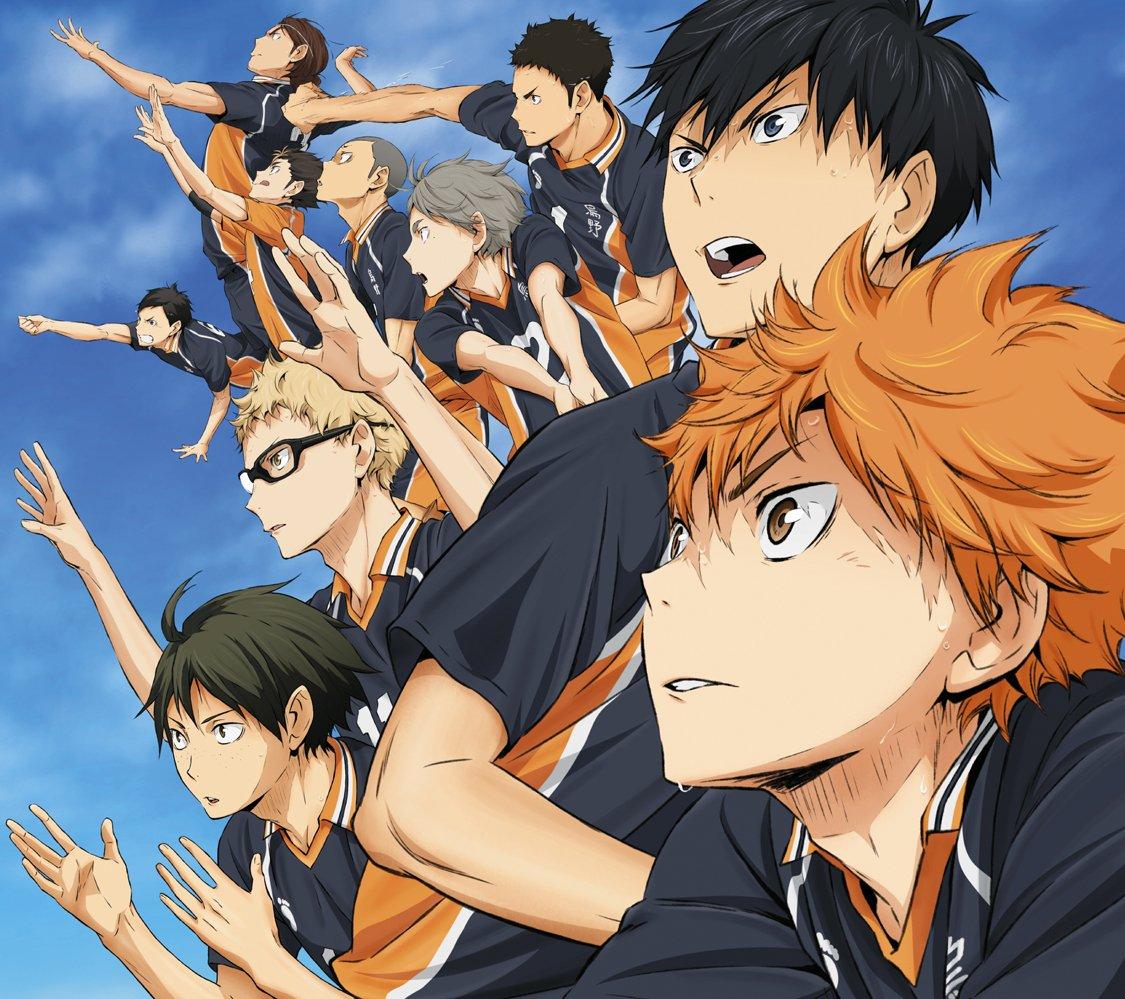 8月19日はアニメ『ハイキュー!!』を見よう!