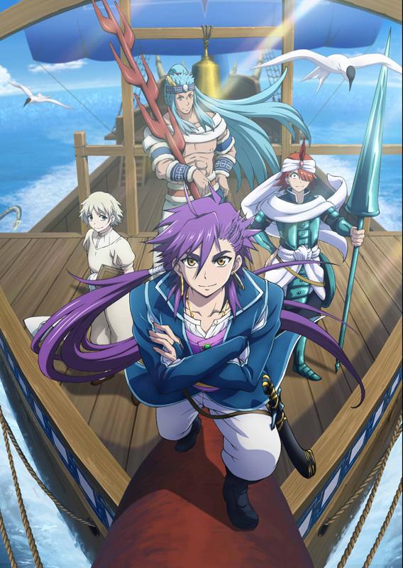 TVアニメ『マギ シンドバッドの冒険』