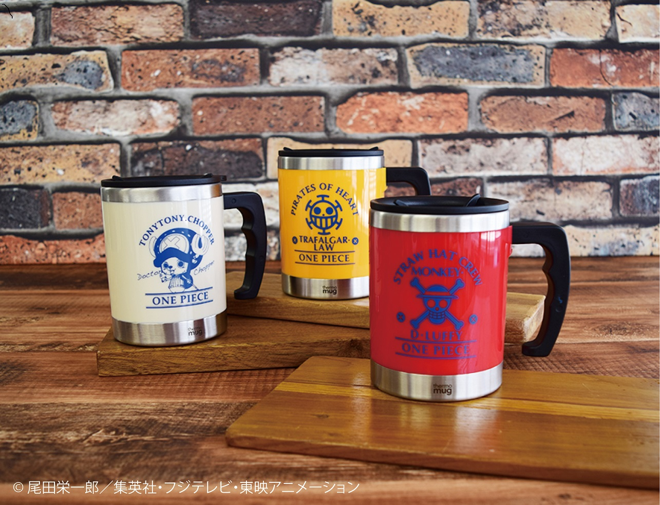 『ONE PIECE』×「thermo mug」コラボ‼