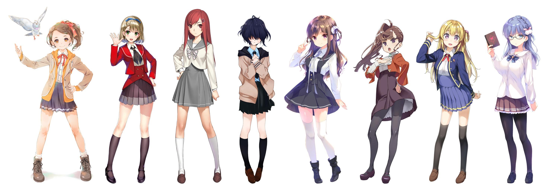 「デジタルアイドル」8人全員のキャラクター公開! 「秋元康」総合プロデュースプロジェクト