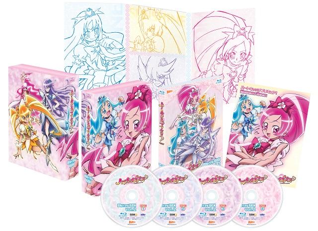 『ハートキャッチプリキュア!』Blu-ray BOX vol.1&vol.2情報