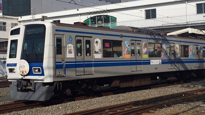 西武鉄道にて『3月のライオン』ラッピング電車運行スタート!!