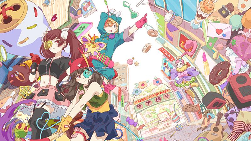 「原宿竹下通り商店会」が秋アニメ『URAHARA』公認へ!!