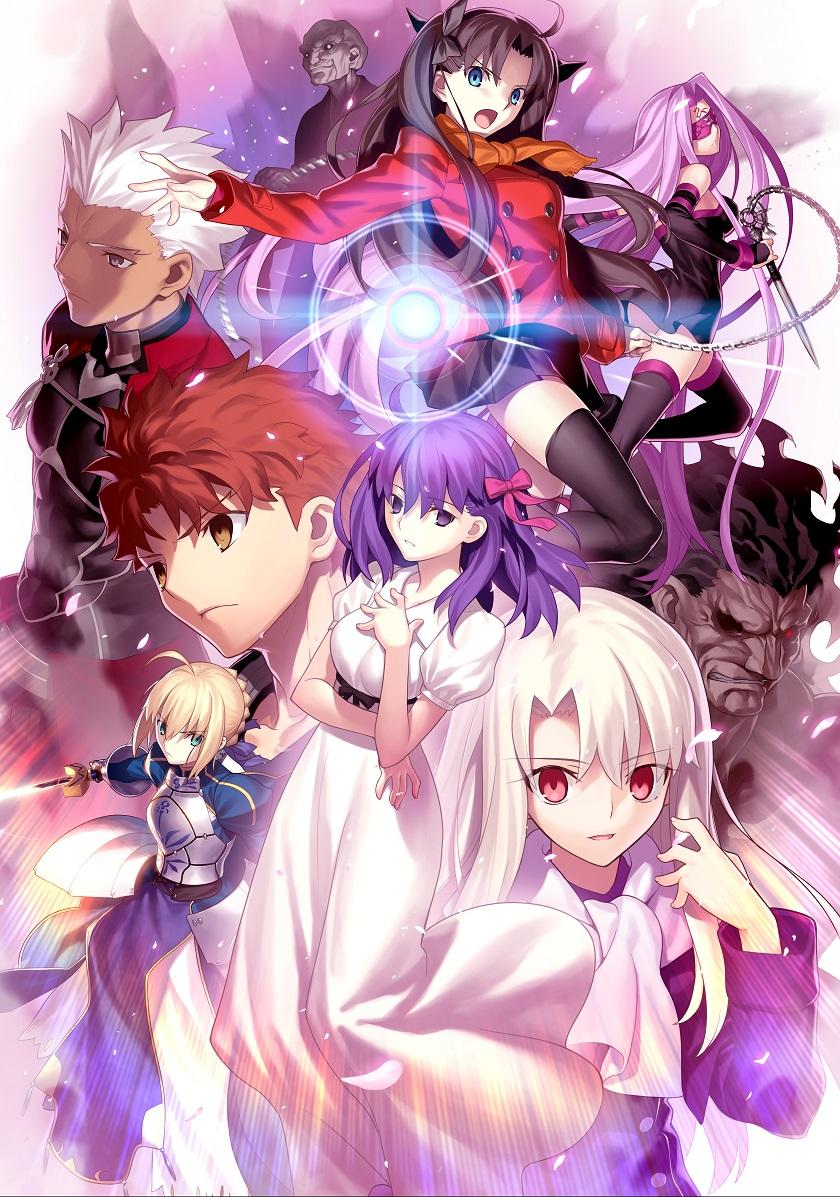 劇場版『Fate/stay night』全国動員・興収ランキング1位!